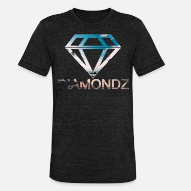 Lolli diamonds diamanten lolli Edel Mode Tshirt Design 3 - Unisex T-Shirt meliert