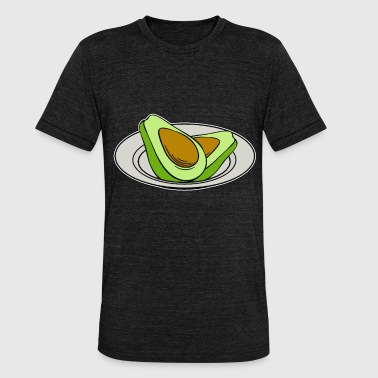 aguacate - Camiseta Tri-Blend unisex de Bella + Canvas