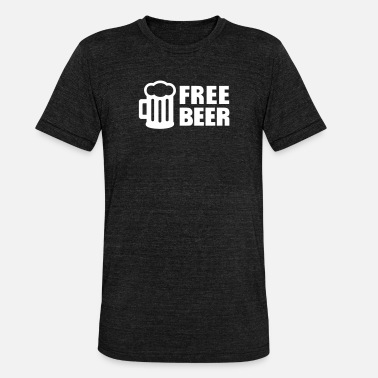 Alcohol Free Beer - Unisex Tri-Blend T-Shirt