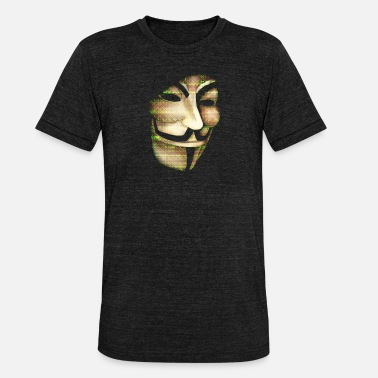 Anonyme - T-shirt chiné unisexe