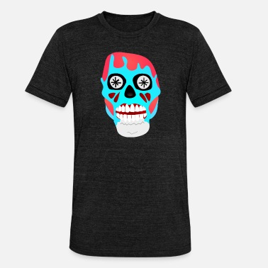 Consume They Live - Skull - Obey Consume Watch TV - Shirt - Unisex Tri-Blend T-Shirt by Bella & Canvas