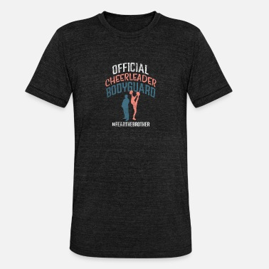 Stadion Officielle Cheerleader Bodyguard Frygter Brother - Unisex triblend T-shirt