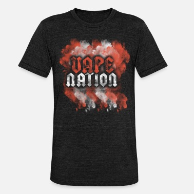 Nation VAPE NATION - Koszulka Bella + Canvas triblend – typu unisex