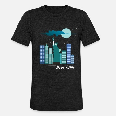 New York new York - Unisex Tri-Blend T-Shirt
