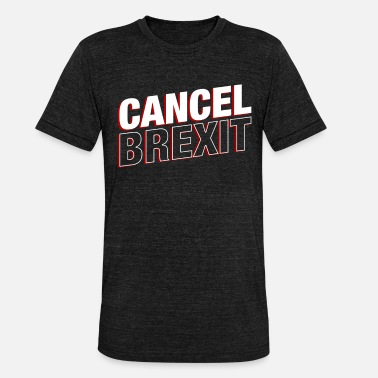 Brexit Annuller Brexit British UK Europe Politics Exit Gift - Unisex triblend T-shirt