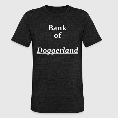 Landmasse Bank of Doggerland - Unisex Tri-Blend T-Shirt von Bella + Canvas