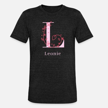 Womens Name Leonie last name first name girl women maiden name - Unisex Tri-Blend T-Shirt
