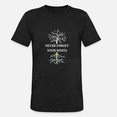 Swedish Swedish Roots Swedish roots - Unisex Tri-Blend T-Shirt