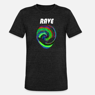 Raving rave rave rave - Unisex Tri-Blend T-Shirt by Bella & Canvas