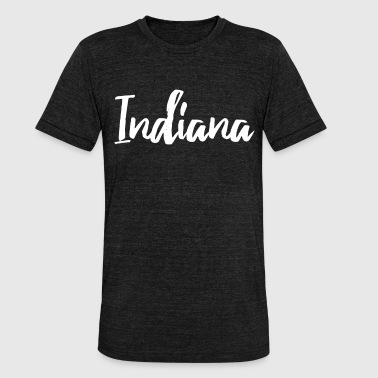 Indiana Indiana - Unisex Tri-Blend T-Shirt by Bella & Canvas