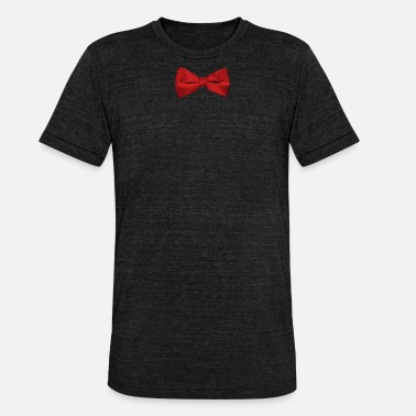 Red Tie Red Bow Tie - Unisex Tri-Blend T-Shirt by Bella & Canvas