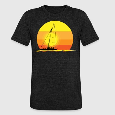 SAIL - Unisex tri-blend T-shirt van Bella + Canvas