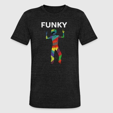 Funk Disco 70s 80s - Unisex Tri-Blend T-Shirt by Bella & Canvas