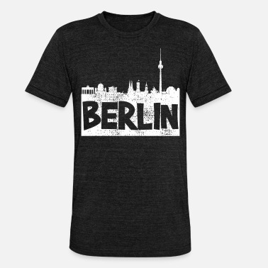 Berliner Berlin Berlin Berlin - Unisex Tri-Blend T-Shirt by Bella & Canvas