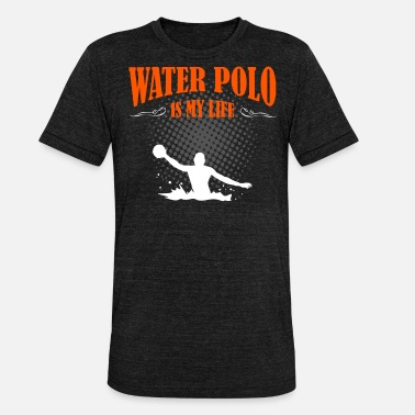 Water-polo Le water-polo est ma vie - T-shirt chiné Bella + Canvas Unisexe