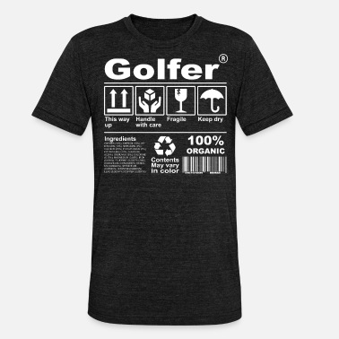 Description Golfer Product Description Tee Shirt - Unisex Tri-Blend T-Shirt