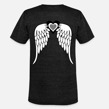 Angelwings Angel Wings - Unisex Tri-Blend T-Shirt