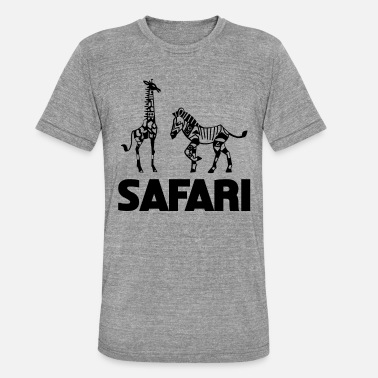 Safari Safari Wildlife Fans South Africa Hunting trip South Africa - Unisex Tri-Blend T-Shirt
