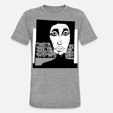 Pop Star POP ART - Unisex Tri-Blend T-Shirt by Bella & Canvas