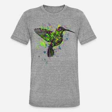 Hummingbird Hummingbird - Unisex Tri-Blend T-Shirt