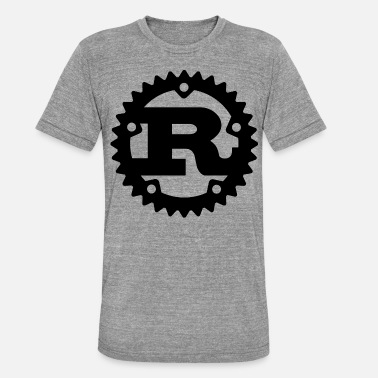 Rust Rust programming - Unisex Tri-Blend T-Shirt by Bella & Canvas