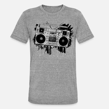 Ghetto Blaster - Unisex Tri-Blend T-Shirt