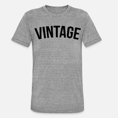 Hiphop Old School vintage old school - T-shirt chiné unisexe