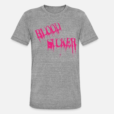 Blood Suckers Blood Sucker magenta - Unisex Tri-Blend T-Shirt
