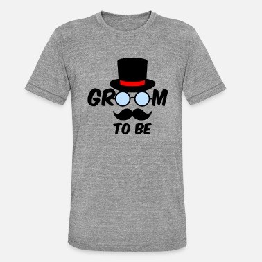 Groom To Be GROOM TO BE - Unisex T-Shirt meliert