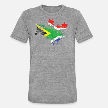 South South Africa Cape Town - Unisex Tri-Blend T-Shirt