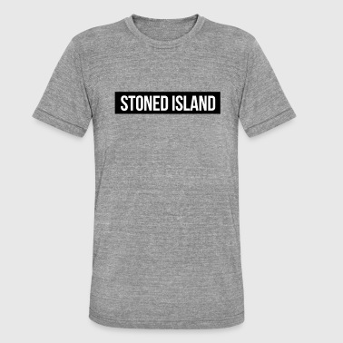 Stoned Islande - T-shirt chiné Bella + Canvas Unisexe