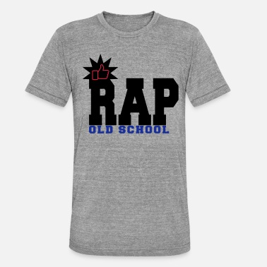 Rap Old School rap old school - T-shirt chiné unisexe