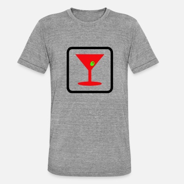 Drink party time fun night club - Unisex Tri-Blend T-Shirt