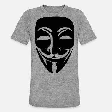 Anonymous Anonymous - Unisex T-Shirt meliert