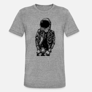 Space Flight Astronaut space space flight - Unisex Tri-Blend T-Shirt by Bella & Canvas