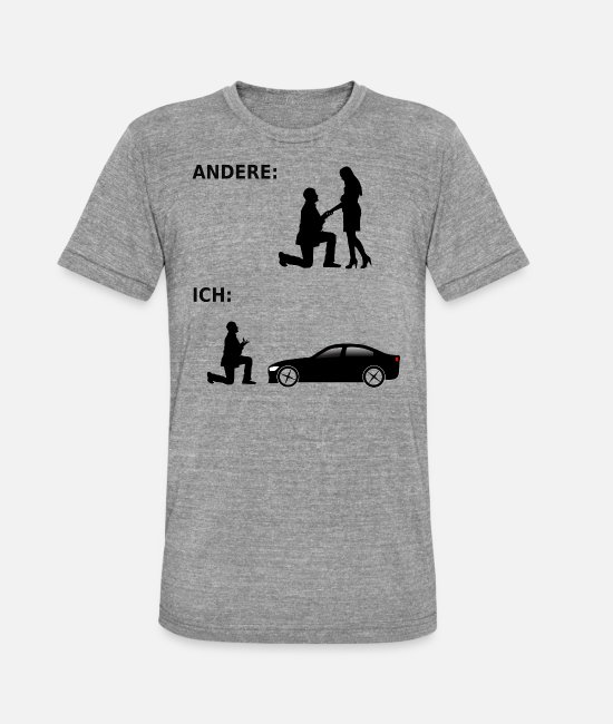 Pilot T-Shirts - Car - Car Tuner - Tuner - Tuning - Gift - Unisex Tri-Blend T-Shirt heather grey