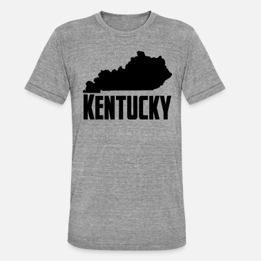 Kentucky Bundesstaat Kentucky - Unisex T-Shirt meliert