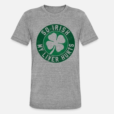 St Patricks Day St. Patrick's Day - Shamrock Ireland Irish - Maglietta unisex tri-blend di Bella + Canvas