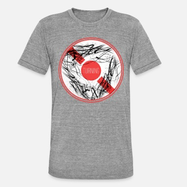 Wheels Turning Wheel - Unisex Tri-Blend T-Shirt