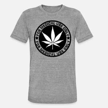 Cannabis cannabis - Unisex Tri-Blend T-Shirt