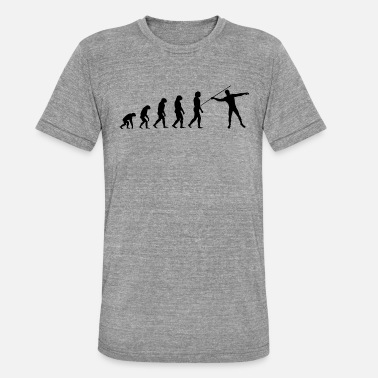 Speer Atletiek - Evolutie - Unisex triblend T-shirt