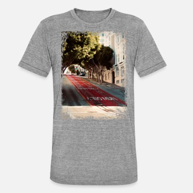 Coast A t-shirt from the street of San Francisco - Unisex Tri-Blend T-Shirt