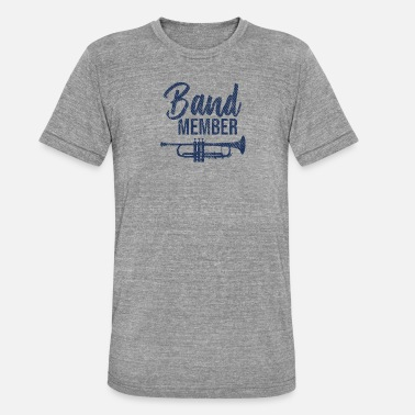 School Band band band member orchestra gift - Unisex Tri-Blend T-Shirt