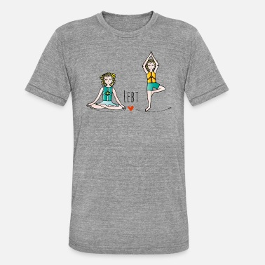 Guardian Symbols The guardian of children - on the move - Unisex Tri-Blend T-Shirt by Bella & Canvas