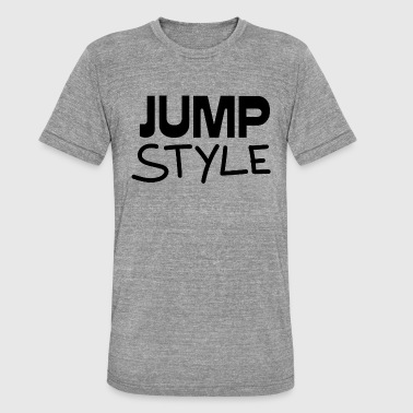 Regalo de Jumpstyle - Camiseta Tri-Blend unisex de Bella + Canvas