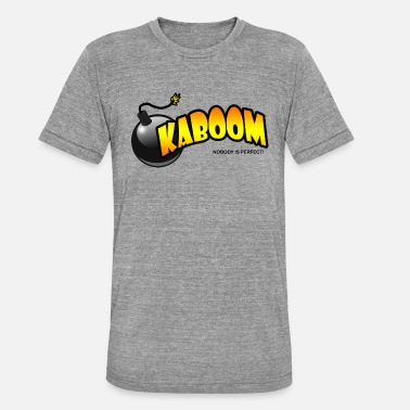 Kaboom Kaboom - T-shirt chiné Bella + Canvas Unisexe