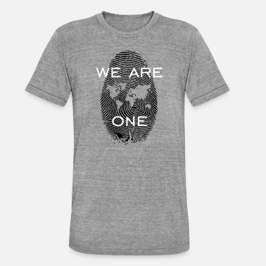 Alles Wird Gut We Are One - Unisex T-Shirt meliert