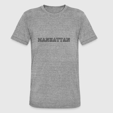 Manhattan Manhattan - T-shirt chiné Bella + Canvas Unisexe