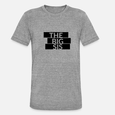 Big Sis Le lettrage Big Sis - T-shirt chiné unisexe