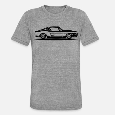 Muscle Car Muscle Car Side Classic Car Muscle Car lahja - Unisex triblend t-paita